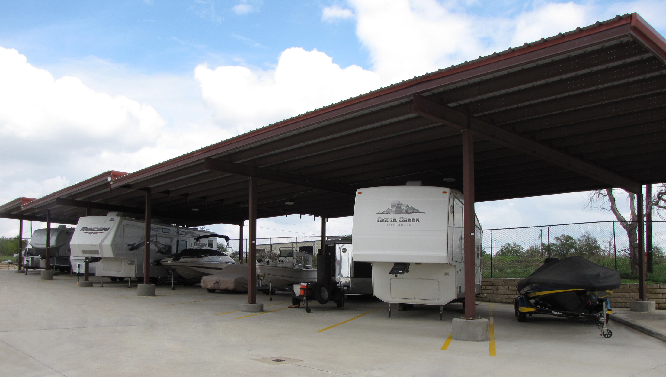 A Lert Building Systems Boat And RV Storage Facility Construction
